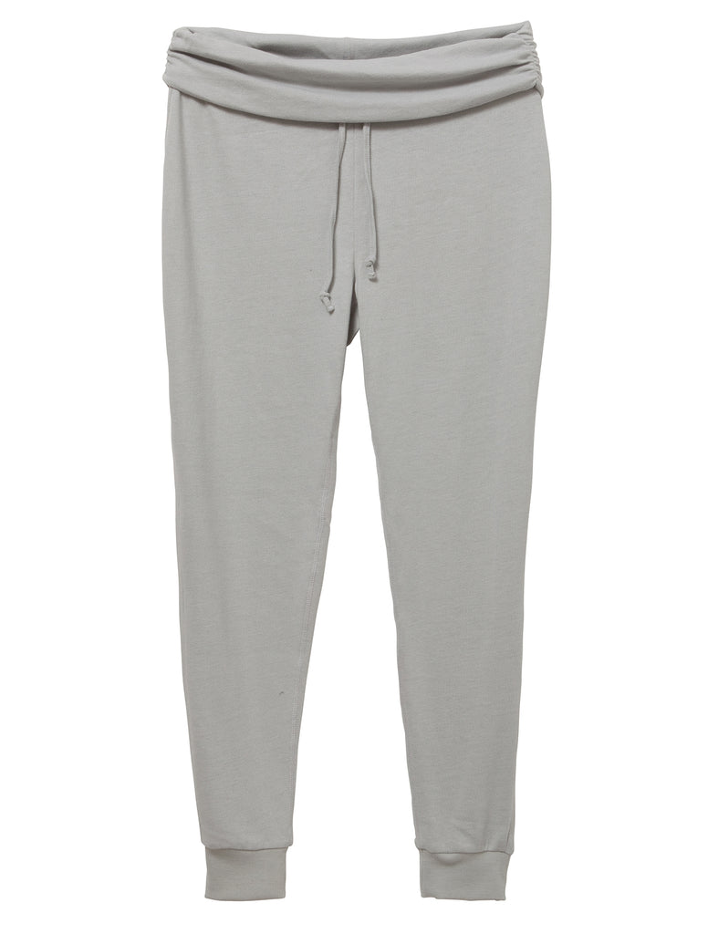 Grey Gathered Jogger