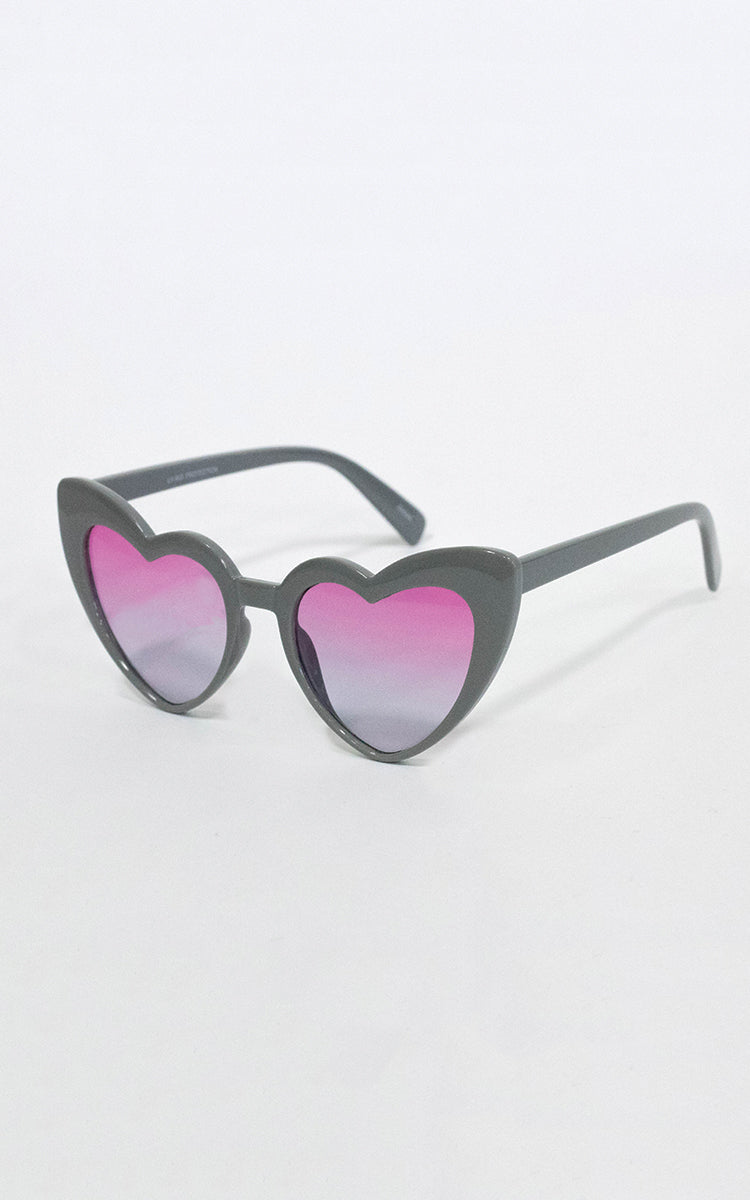 "Grey ""Love Me"" Sunglasses"