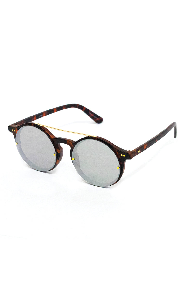 Tort Retro Sunglasses