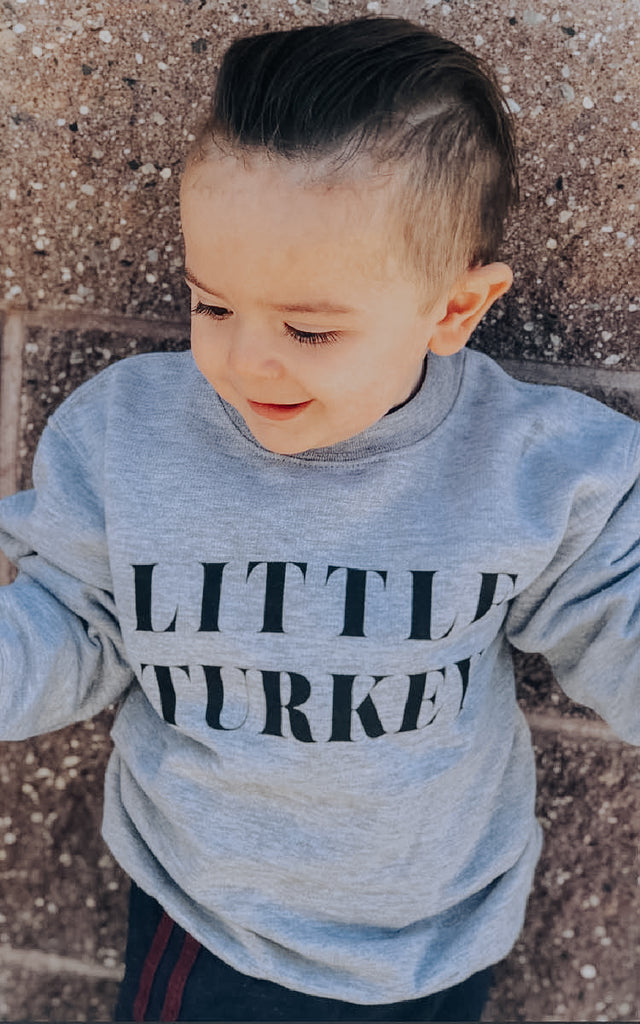 Little Turkey Kids Crew Neck