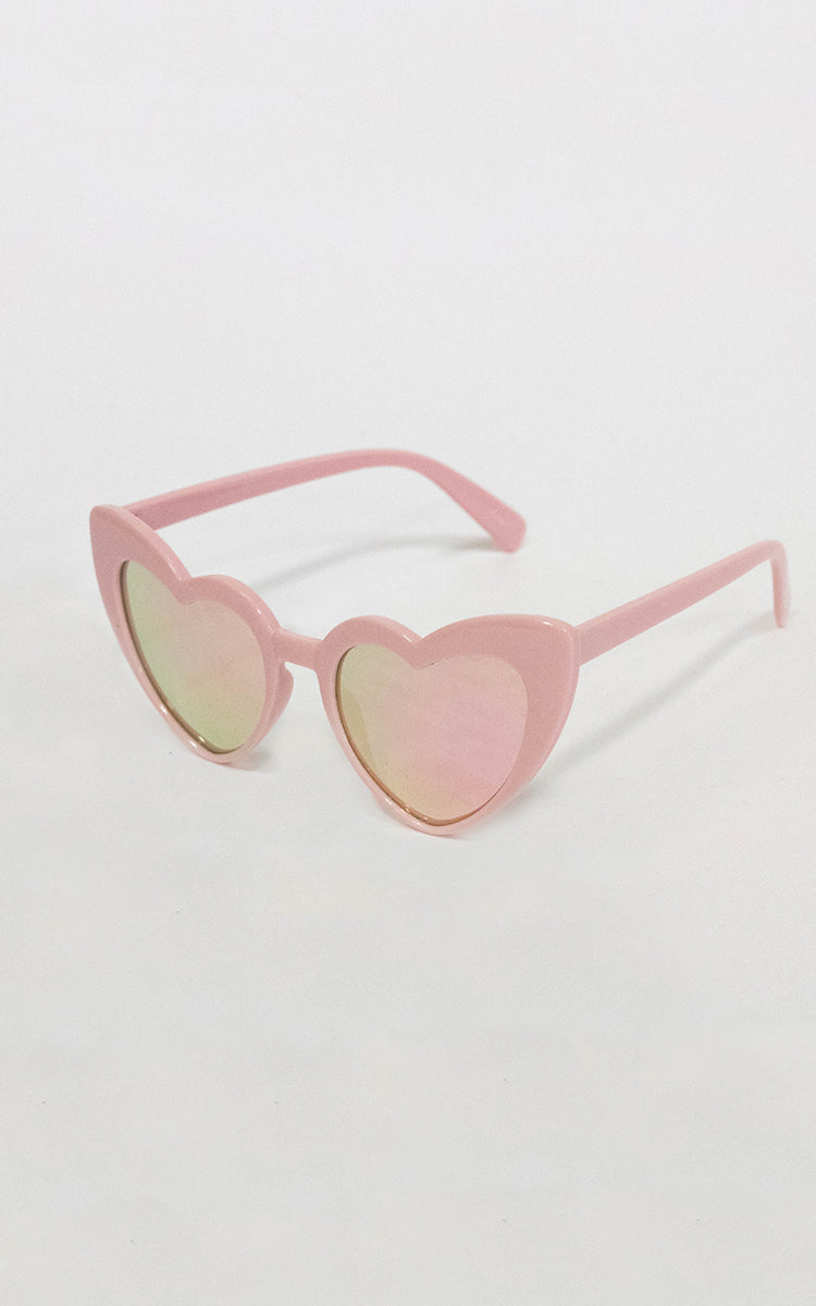 "Pink ""Love Me"" Sunglasses"