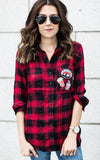 Red Patches Flannel