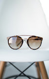 Anna Tortoise Sunglasses - Brown Lenses