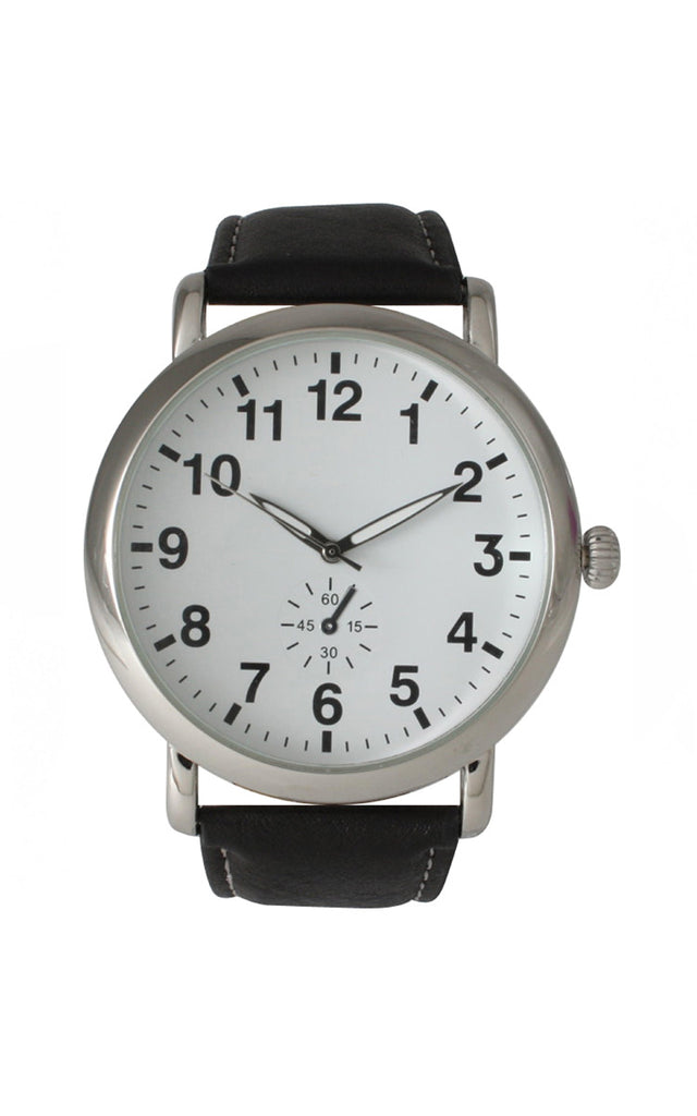 Classic Strap Watch - Black