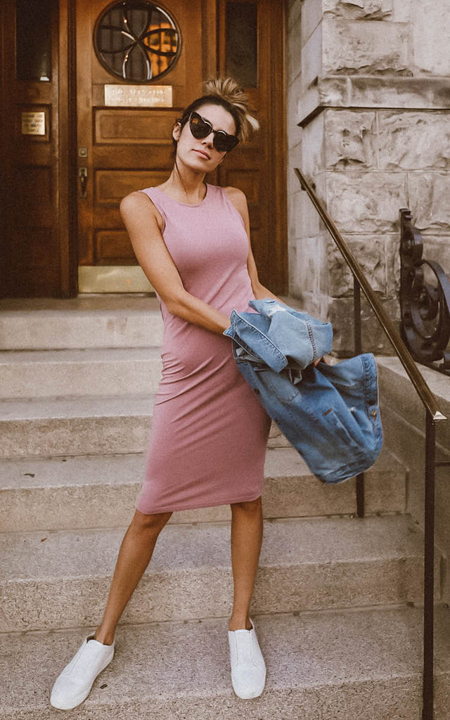 Blush Bodycon Dress