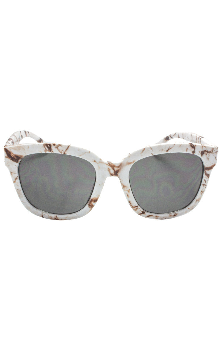 Cali Splatter Sunglasses - Brown