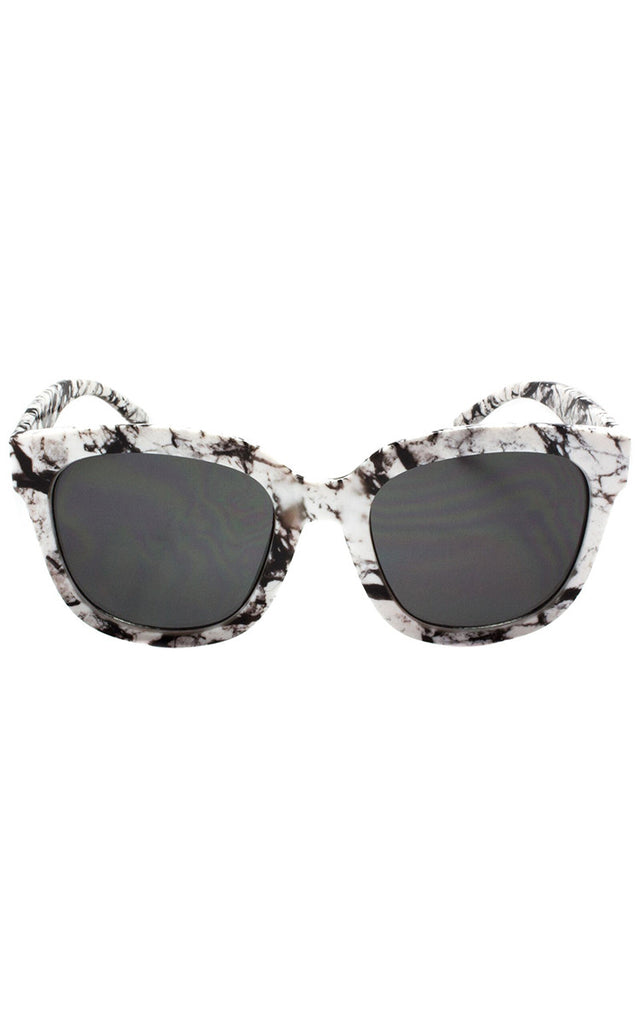 Cali Splatter Sunglasses - Black