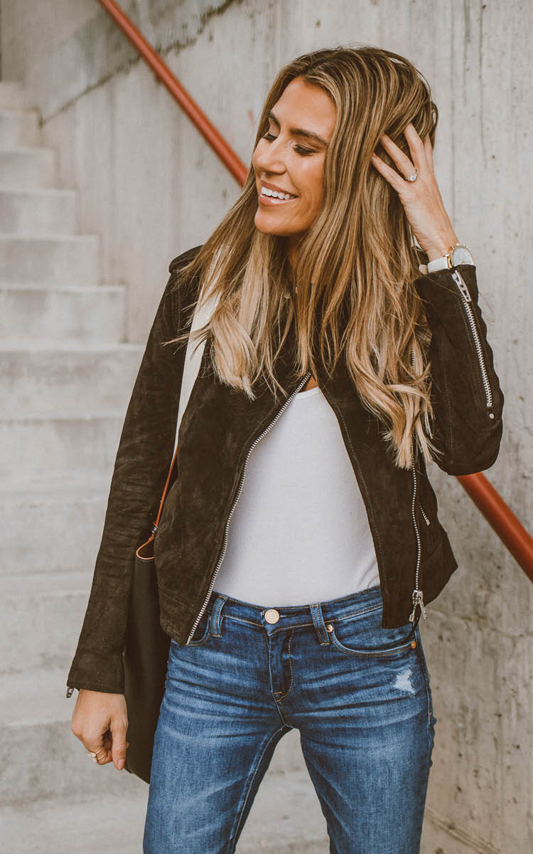 Chocolate Suede Jacket