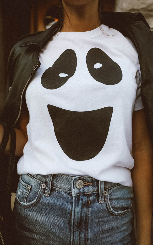 Ghost Face Tee – Ily Couture