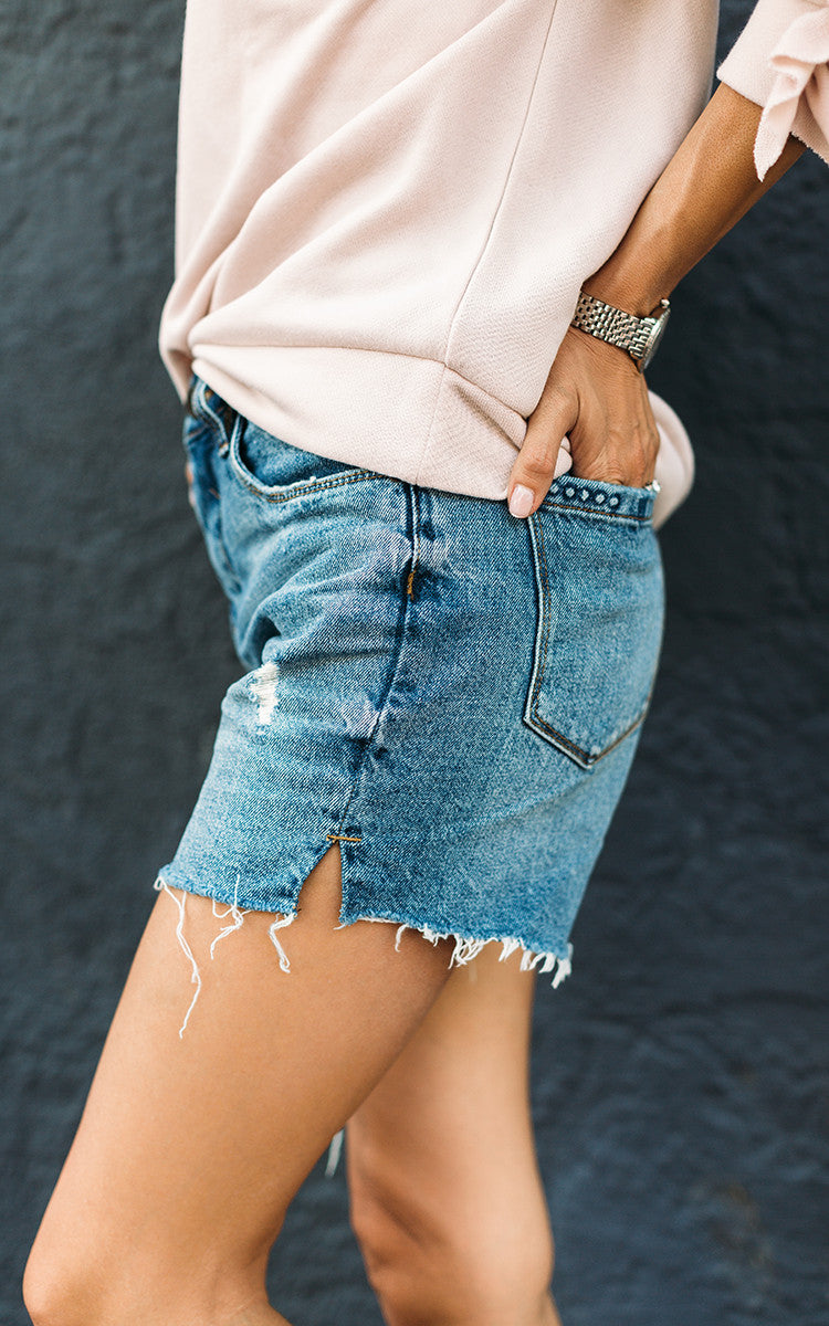 Boyfriend Cut-Off Shorts