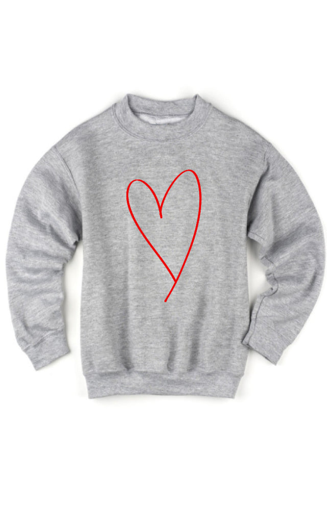 Kids Heart Sweatshirt
