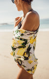 Lemon Swim Cover Up