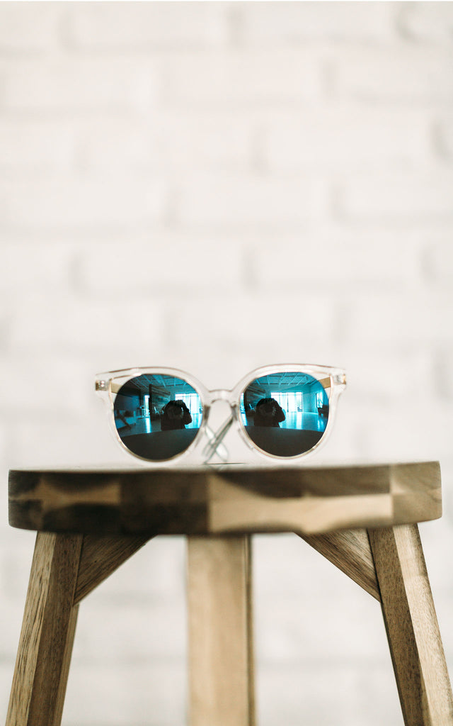 Blue Lex Sunglasses
