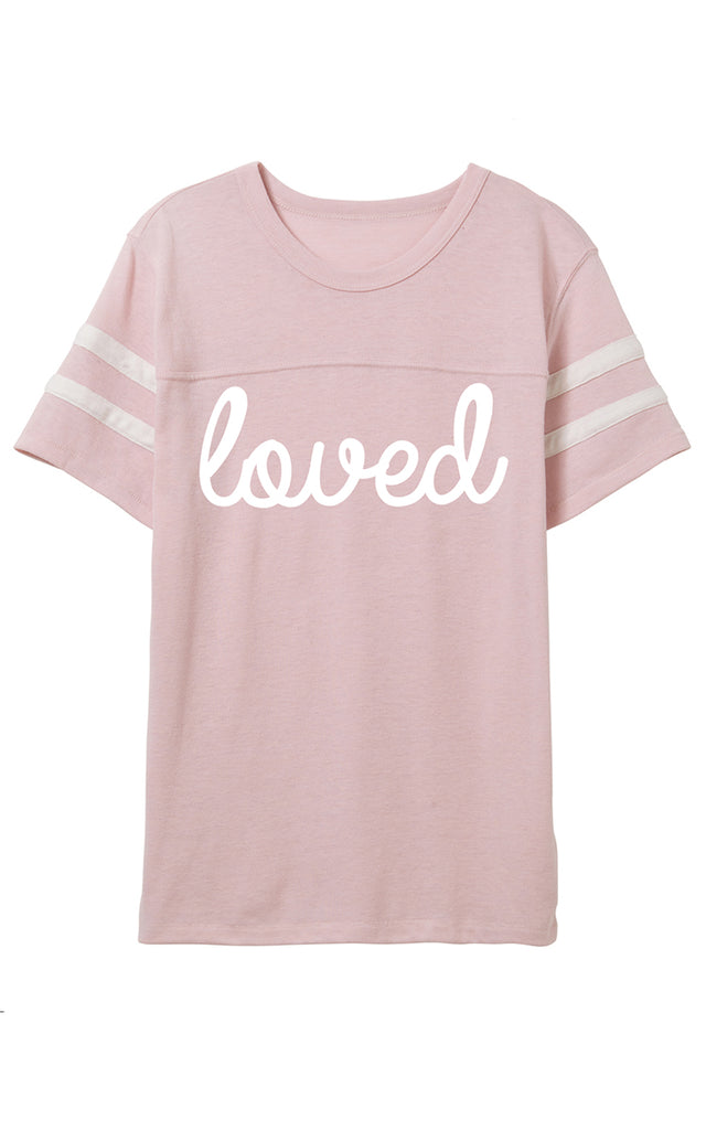 Blush Loved Tee