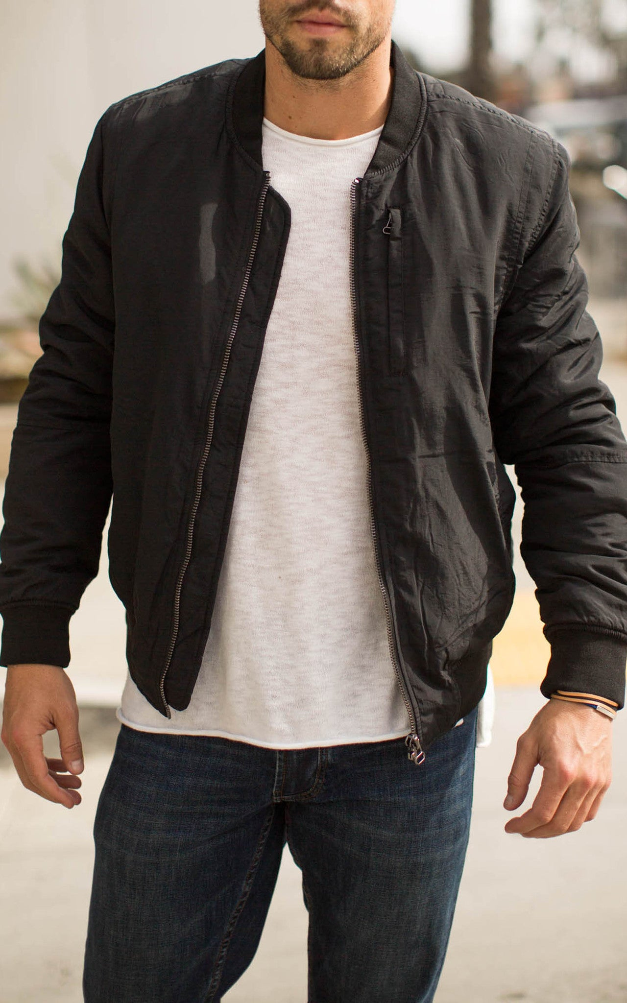 Men's Black Zed Jacket