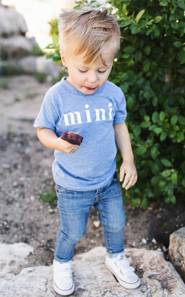 Mini Blue Tee - Kids