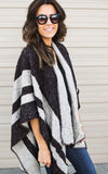Mocha Stripe Cape