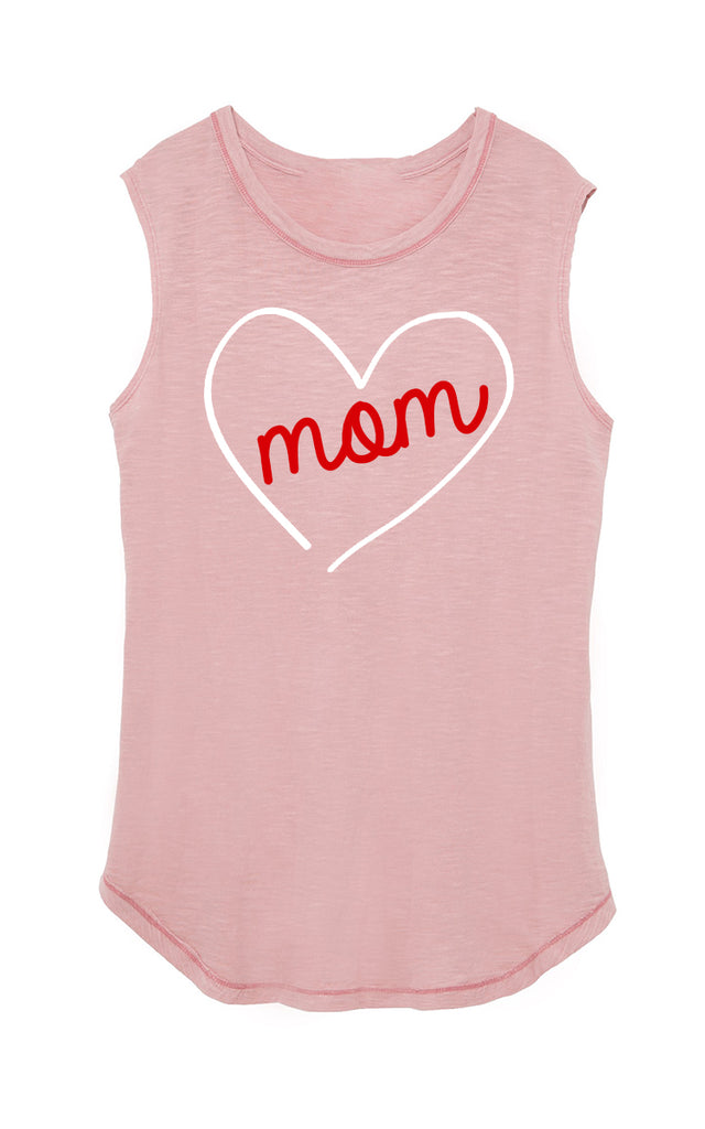 Blush Mom Love Tank