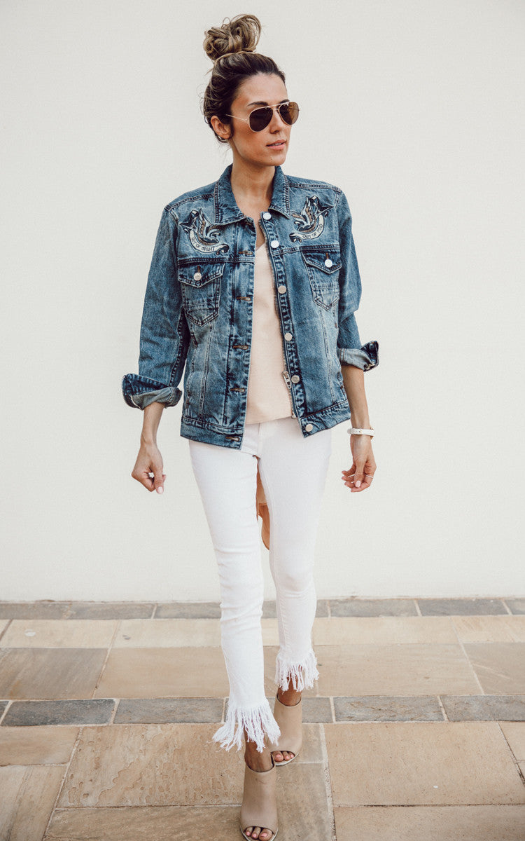 Out of Sight Denim Jacket