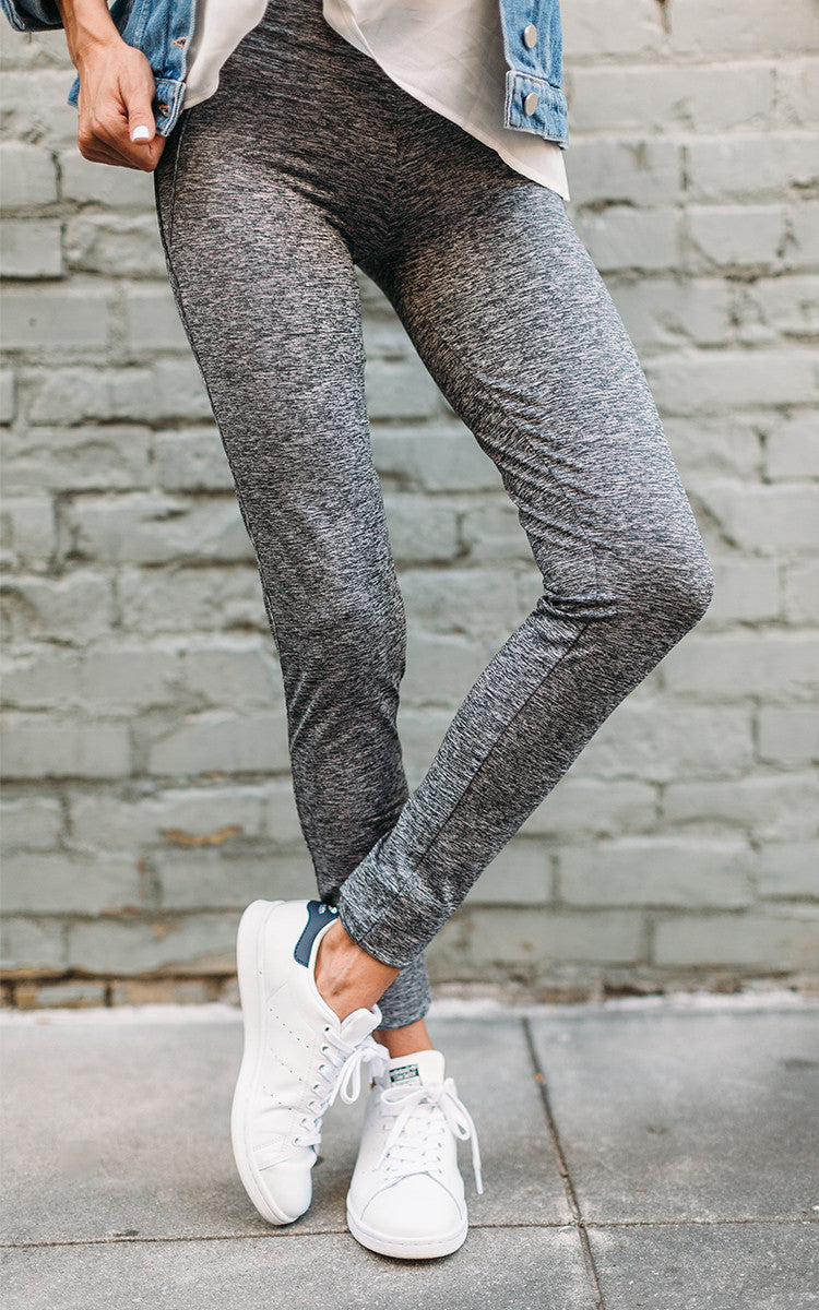 Grey Marl Leggings