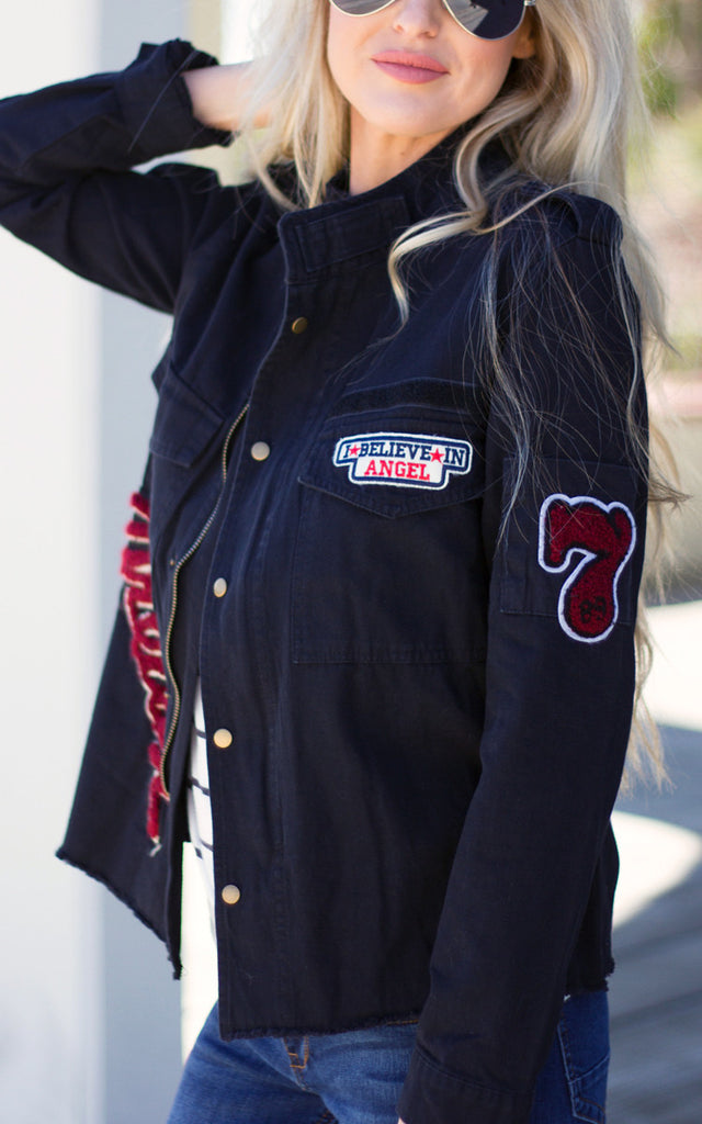 Perfect Patch Varsity Jacket