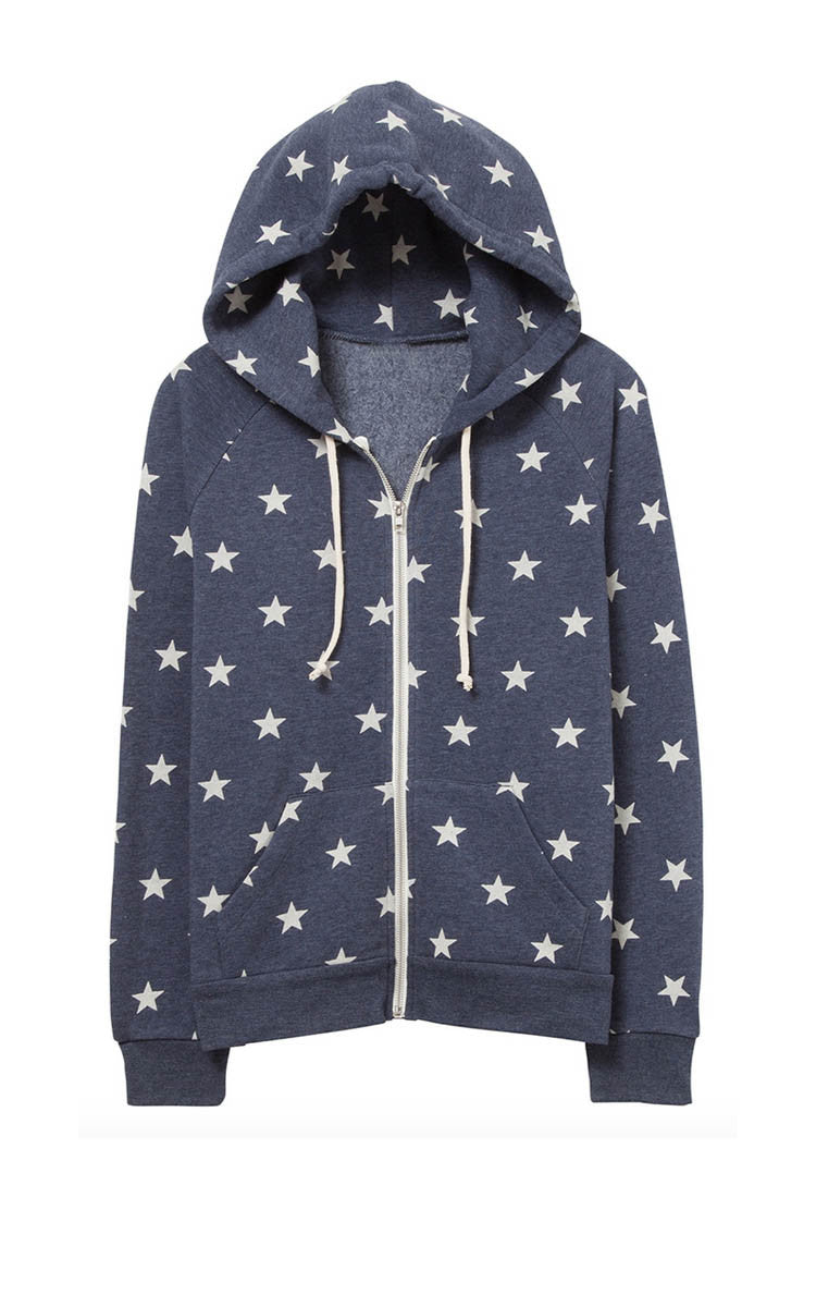 Seeing Stars Zip Up Hoodie