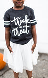 Trick or Treat Kids Tee - Grey