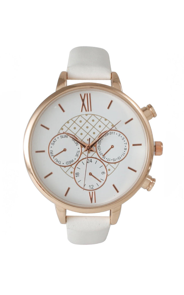 White Margo Watch
