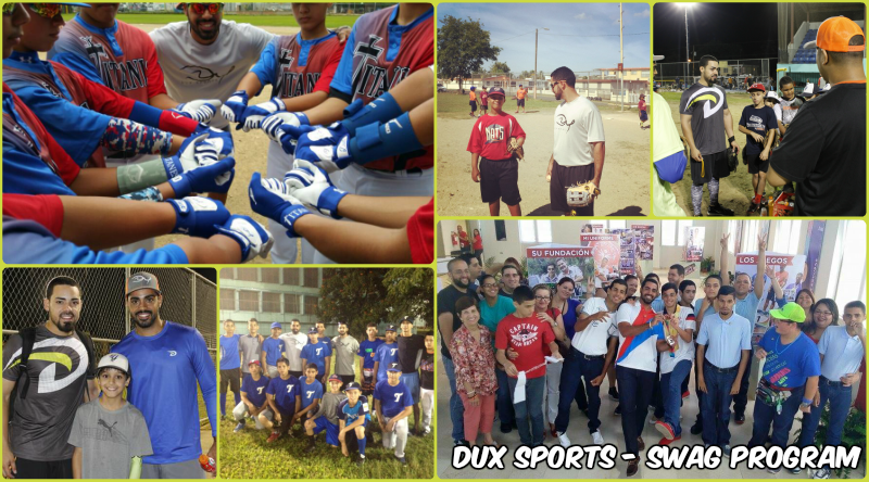 Dux Sports SWAG Program Collage