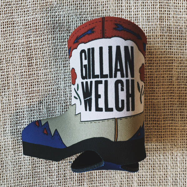 "Gillian Welch Boots No. 2 ""The Lost Songs"" Koozie"