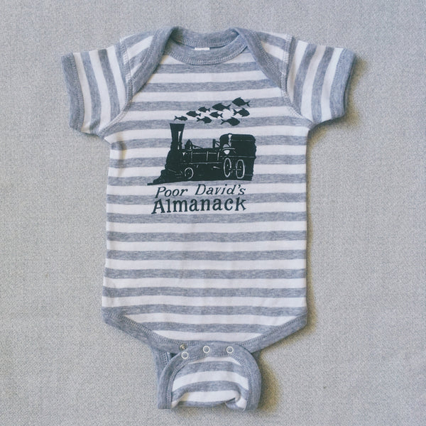 Almanack Train Onesie
