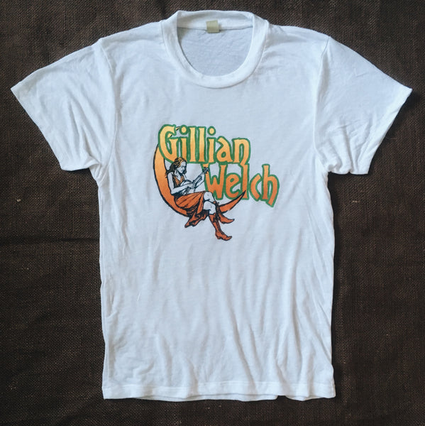 Gillian Welch Sunset Moon Burnout T