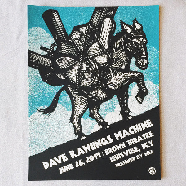 "Dave Rawlings Machine 06/26/14 ""Mule"" Poster"