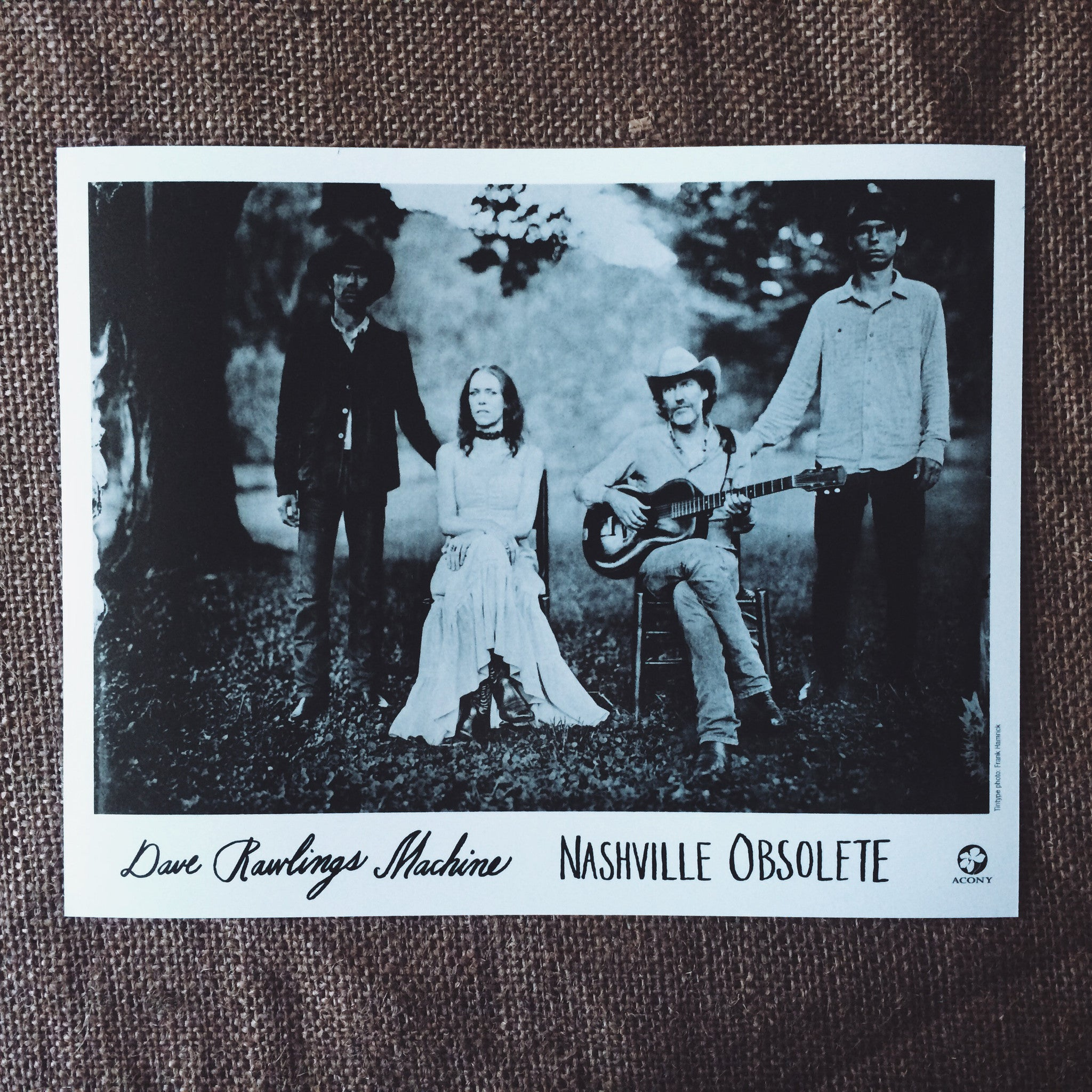 Nashville Obsolete 8 X 10