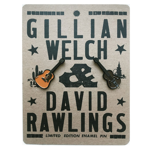 """Guitars"" Enamel Pin Set"