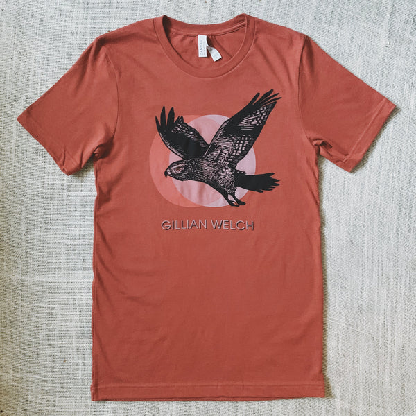 Red Clay Hawk Tee