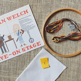 Gillian Welch Live On Stage Cross Stitch Kit