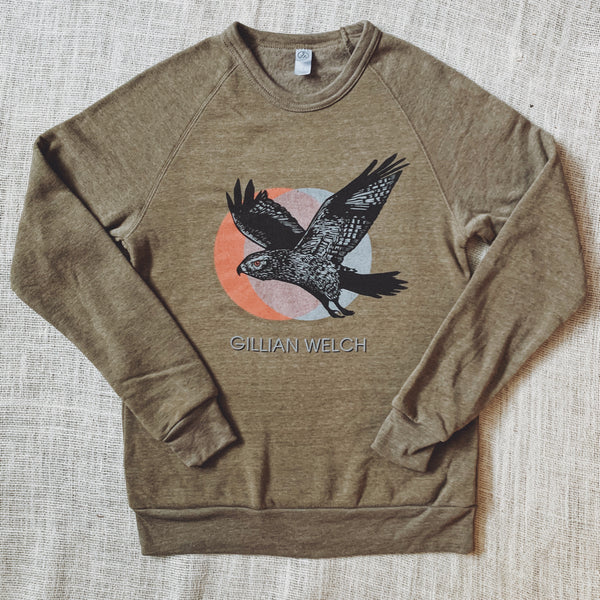 Heather Hawk Sweatshirt