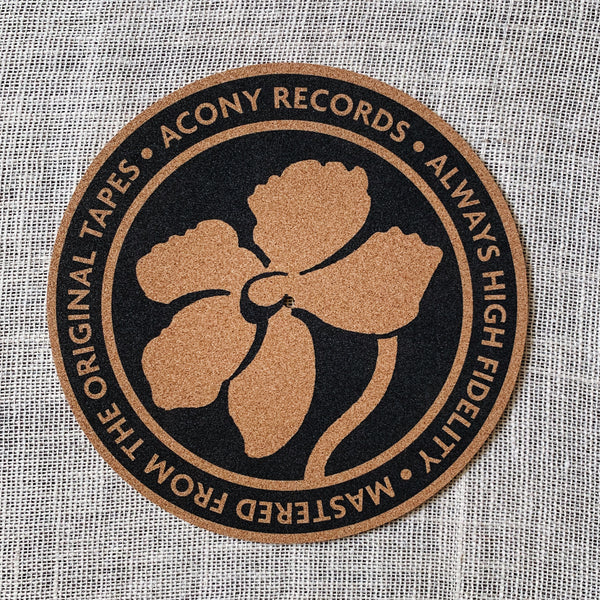 Acony Records Cork Turntable Slipmat