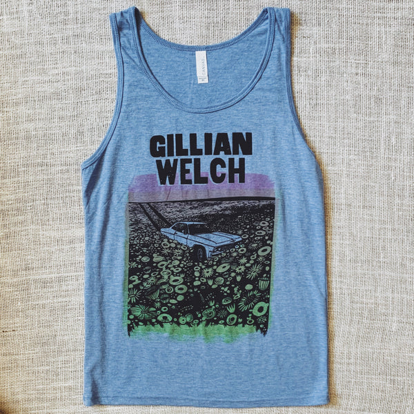 Blue Heather Southern Spring Tank Top