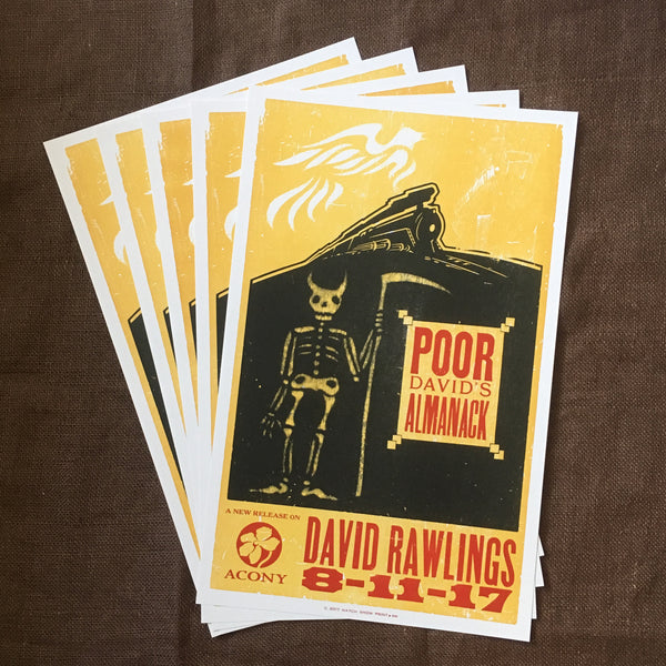 Poor David's Almanack Hatch - PREORDER