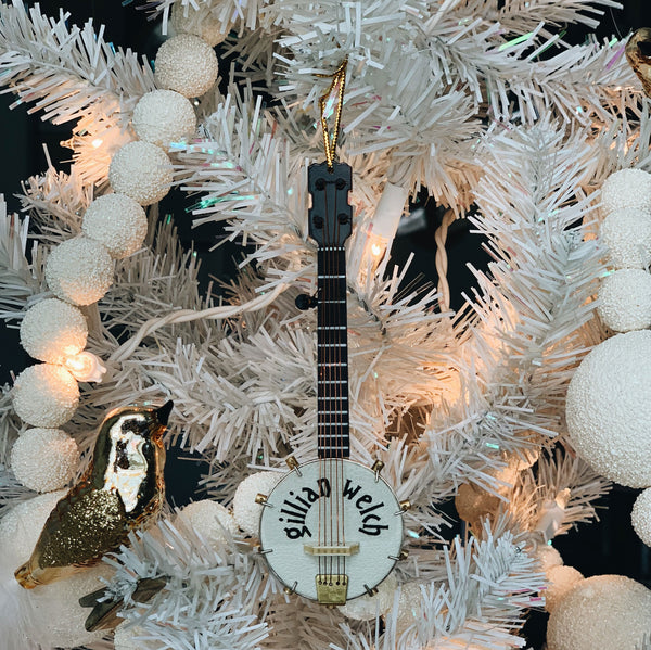Banjo Christmas Tree Ornament