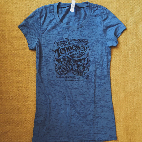 Blue Ladies Tennessee T