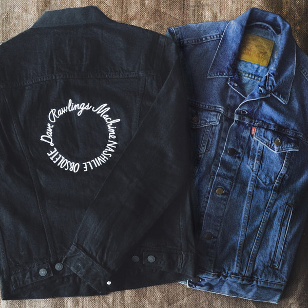 DRM Embroidered Levi's Jacket
