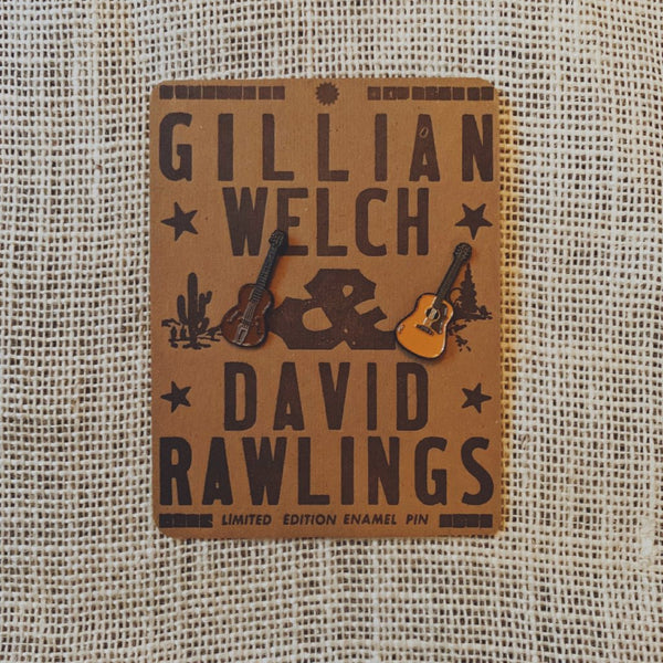 """Guitars"" Enamel Pin Set 2.0"
