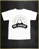"""St. Louis Born"" Kids T-Shirt"