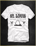 """St. Louis Gateway"" Men's T-Shirt"