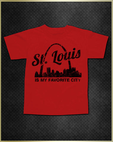 """St. Louis Arch"" Kids T-Shirt"