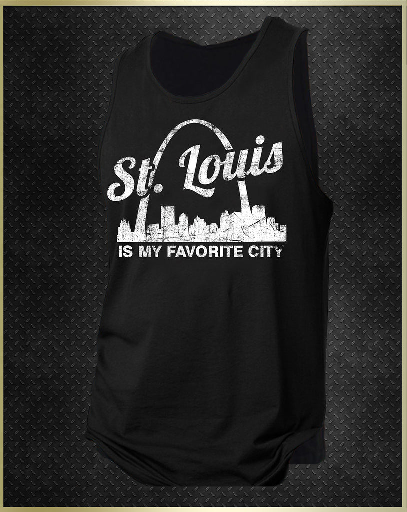 """St. Louis Arch"" Men's Tank Top"