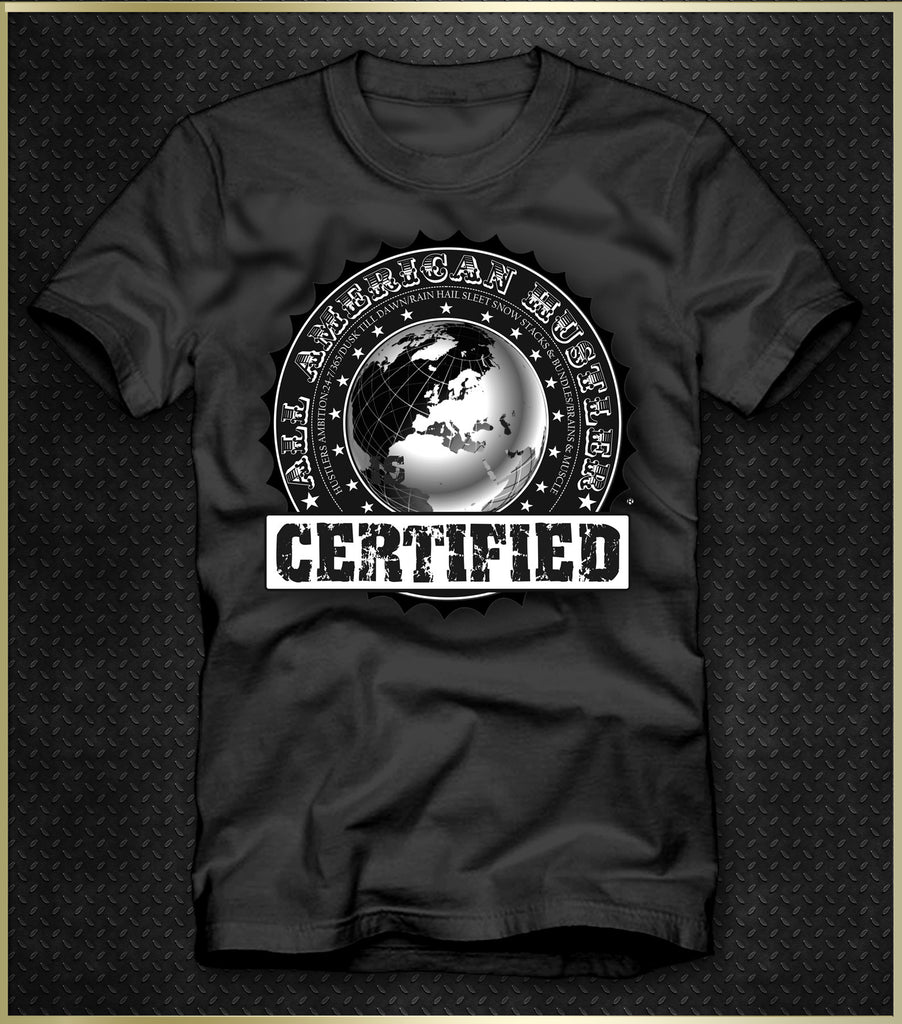 """Official Certified"" Men's T-Shirt"